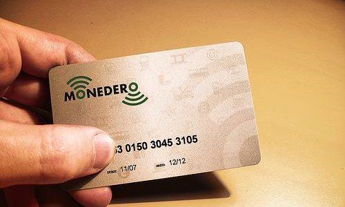Tarjeta Monedero